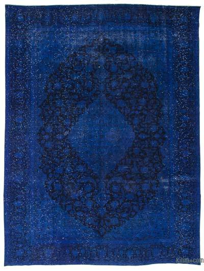"""Over-dyed Vintage Hand-knotted Oriental Rug - 9'8"""" x 12'9"""" (116 in. x 153 in.)"""