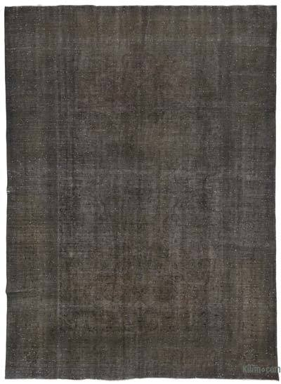 """Over-dyed Vintage Hand-knotted Oriental Rug - 9' 8"""" x 13' 2"""" (116 in. x 158 in.)"""