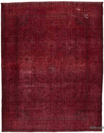 """Over-dyed Vintage Hand-knotted Oriental Rug - 9' 9"""" x 12' 8"""" (117 in. x 152 in.)"""