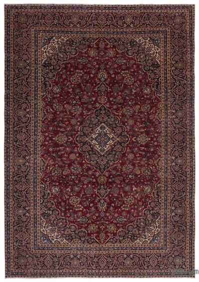 """Vintage Hand-knotted Oriental Rug - 9'2"""" x 13'6"""" (110 in. x 162 in.)"""