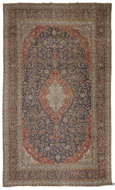 "Vintage Hand-knotted Oriental Rug - 9' 7"" x 16' 2"" (115 in. x 194 in.)"