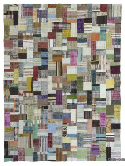 "Turkish Chaput Patchwork Rug - 9'11"" x 13'3"" (119 in. x 159 in.)"