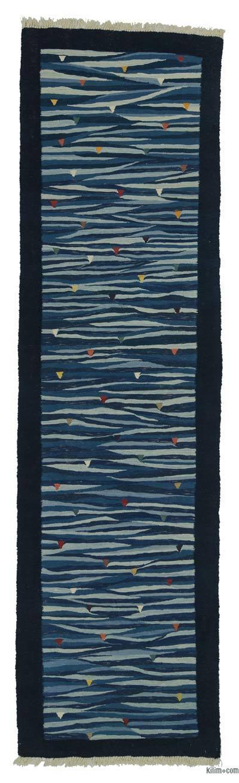 Yeni Kök Boya Kilim Yolluk - 90 cm x 326 cm