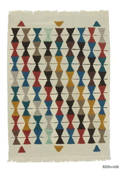 "New Turkish Kilim Rug - 1'11"" x 2'8"" (23 in. x 32 in.)"