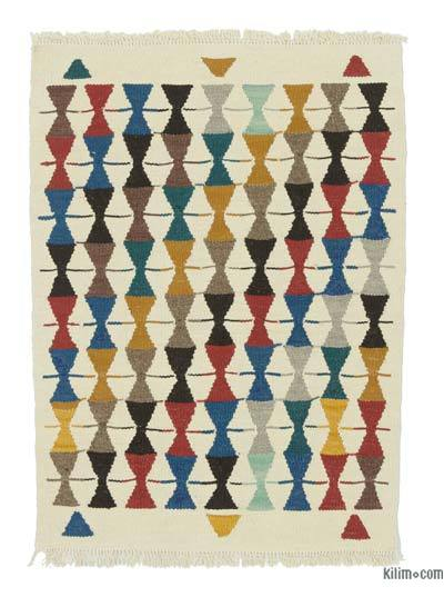 "New Turkish Kilim Rug - 2' x 2'9"" (24 in. x 33 in.)"