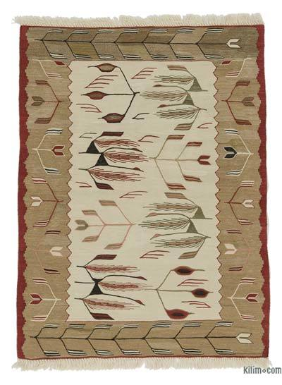 New Handwoven Turkish Kilim Rug - 3' x 4' (36 in. x 48 in.)
