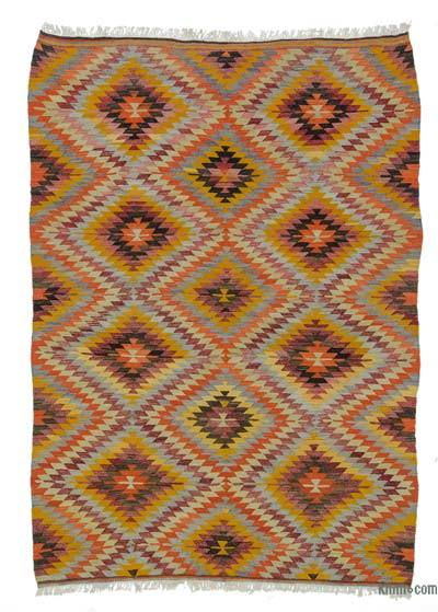 Alfombra Vintage Afyon Kilim - 186 cm x 270 cm