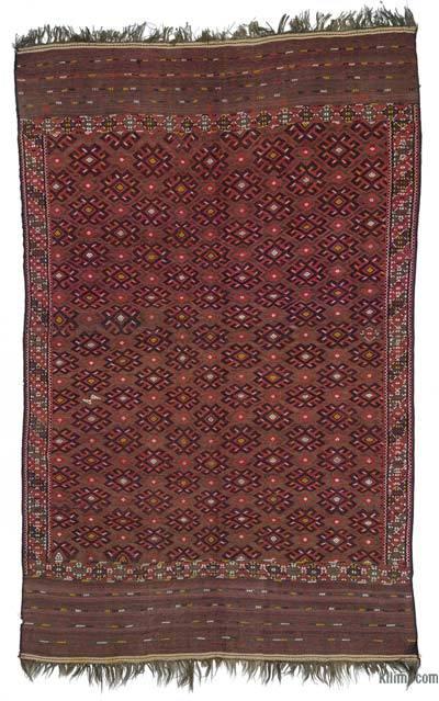 Antique Yomut Turkoman Kilim Rug