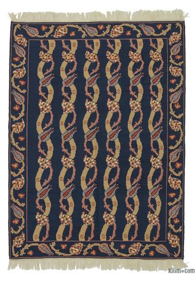 "New Turkish Kilim Rug - 5' 7"" x 7' 8"" (67 in. x 92 in.)"