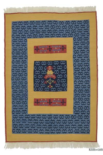 "New Turkish Kilim Rug - 4'11"" x 7' (59 in. x 84 in.)"