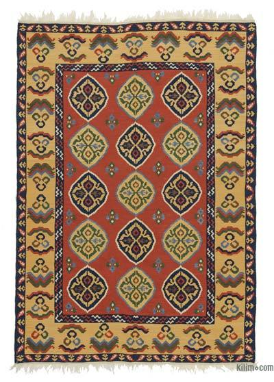 "New Turkish Kilim Rug - 5'  x 7' 2"" (60 in. x 86 in.)"