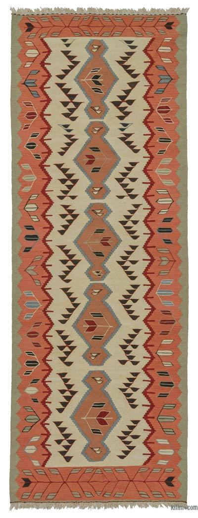"New Turkish Kilim Runner - 4'  x 11' 2"" (48 in. x 134 in.)"