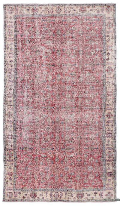 "Turkish Vintage Area Rug - 5' 3"" x 9' 1"" (63 in. x 109 in.)"