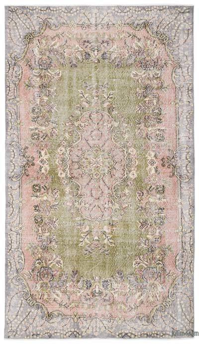 "Turkish Vintage Area Rug - 5'9"" x 9'3"" (69 in. x 111 in.)"
