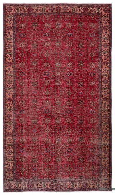 """Turkish Vintage Area Rug - 5' 5"""" x 9' 6"""" (65 in. x 114 in.)"""