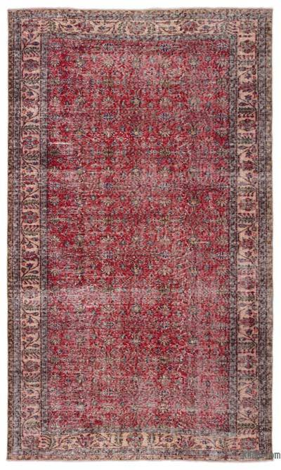 """Turkish Vintage Area Rug - 5'5"""" x 9'3"""" (65 in. x 111 in.)"""