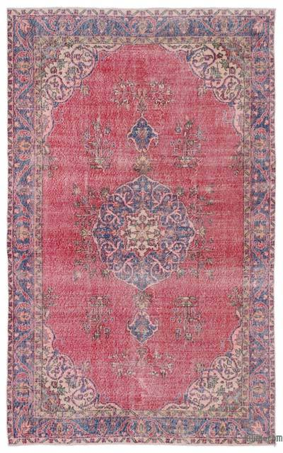 "Turkish Vintage Area Rug - 5'8"" x 9'2"" (68 in. x 110 in.)"