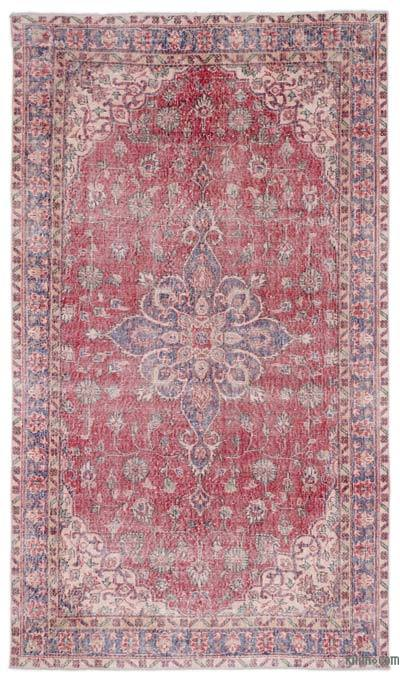"""Turkish Vintage Area Rug - 5'5"""" x 9'7"""" (65 in. x 115 in.)"""