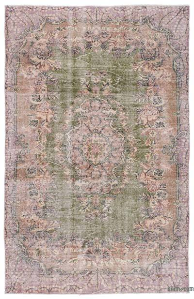 """Turkish Vintage Area Rug - 5'3"""" x 8'3"""" (63 in. x 99 in.)"""