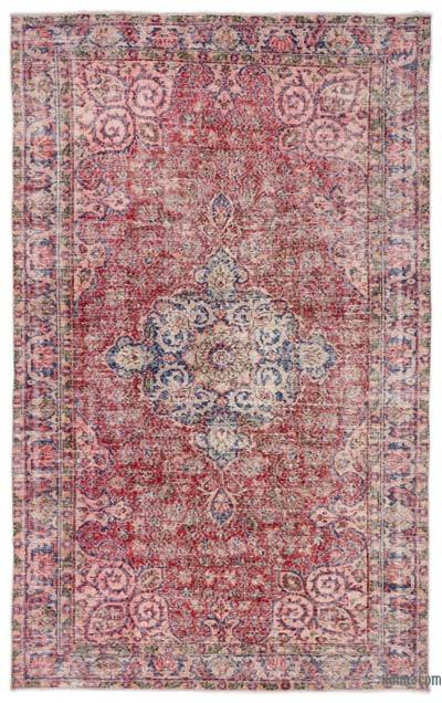 "Turkish Vintage Area Rug - 5'3"" x 8'7"" (63 in. x 103 in.)"