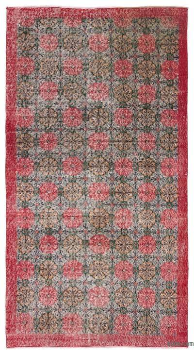 "Turkish Vintage Area Rug - 3' 9"" x 7' 1"" (45 in. x 85 in.)"
