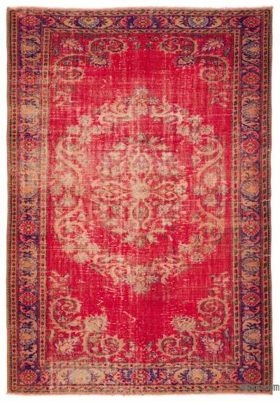 "Turkish Vintage Area Rug - 6' x 8'8"" (72 in. x 104 in.)"