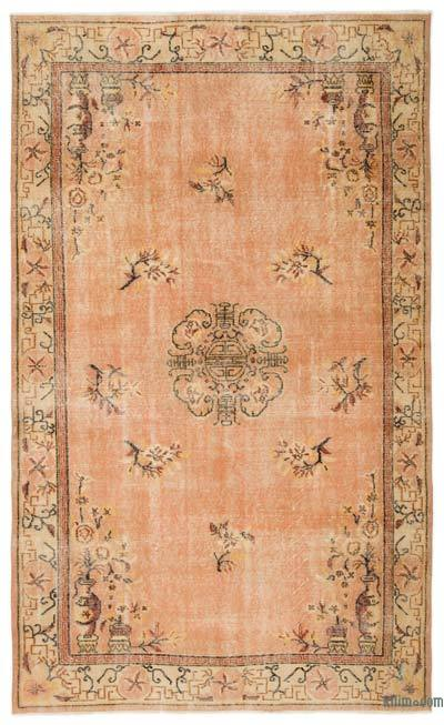 """Turkish Vintage Area Rug - 5'8"""" x 9'4"""" (68 in. x 112 in.)"""