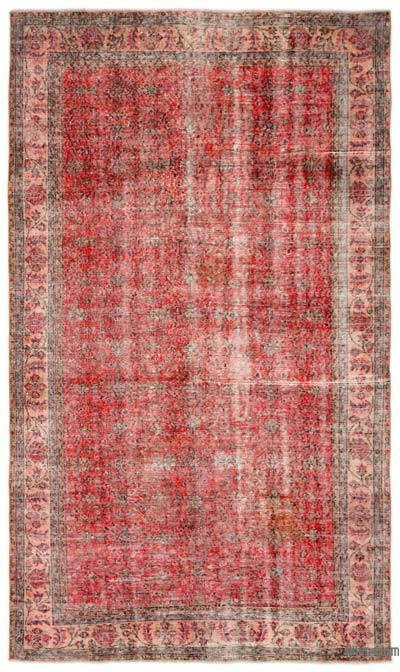 El Dokuma Vintage Halı - 162 cm x 262 cm