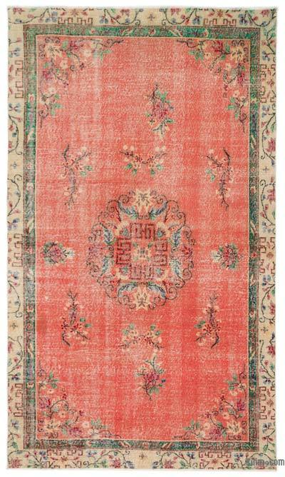 """Turkish Vintage Area Rug - 5'10"""" x 10'1"""" (70 in. x 121 in.)"""
