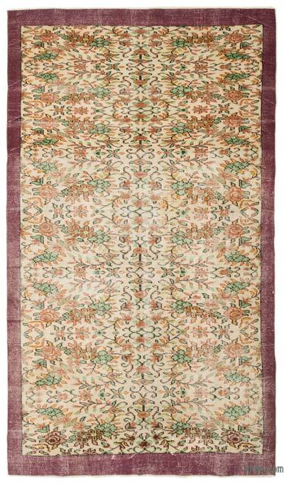 "Turkish Vintage Area Rug - 5'11"" x 9'7"" (71 in. x 115 in.)"