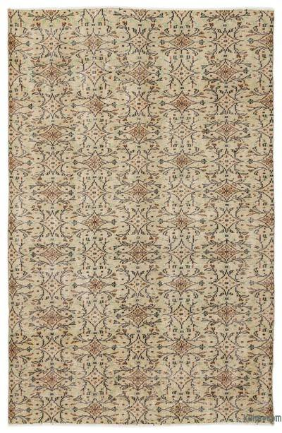 """Turkish Vintage Area Rug - 5'10"""" x 9' (70 in. x 108 in.)"""