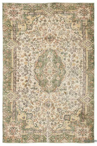 "Turkish Vintage Area Rug - 5' x 7'8"" (60 in. x 92 in.)"