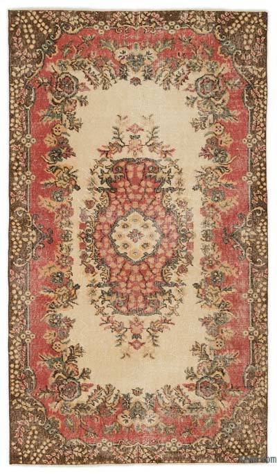 "Turkish Vintage Area Rug - 3'10"" x 6'9"" (46 in. x 81 in.)"