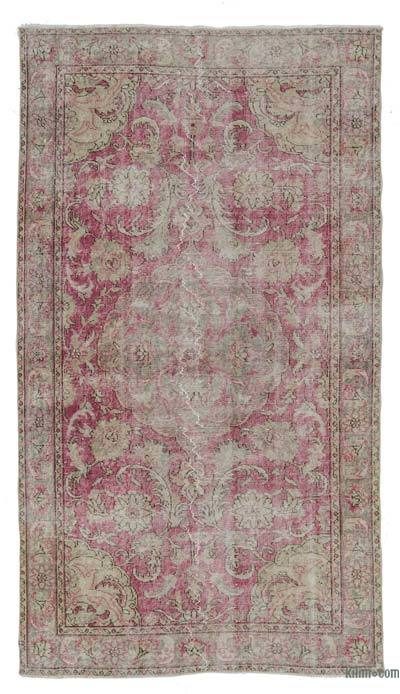 "Turkish Vintage Area Rug - 4' 2"" x 7' 10"" (50 in. x 94 in.)"