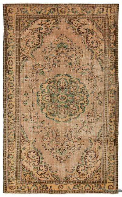 """Turkish Vintage Area Rug - 5' 10"""" x 9' 6"""" (70 in. x 114 in.)"""