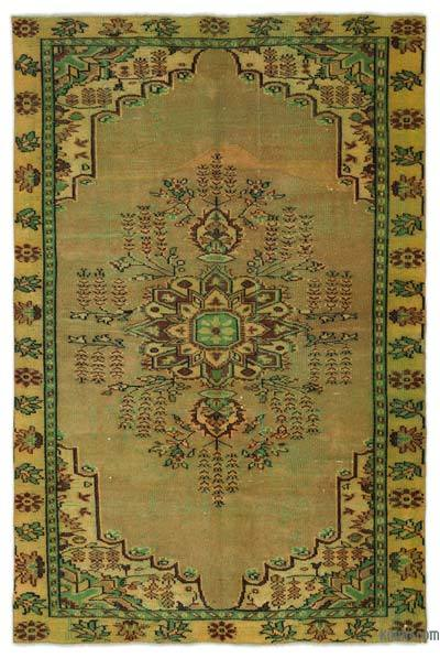 "Turkish Vintage Area Rug - 5'8"" x 8'5"" (68 in. x 101 in.)"