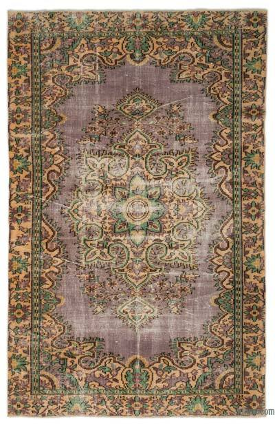 "Turkish Vintage Area Rug - 5' 7"" x 8' 10"" (67 in. x 106 in.)"