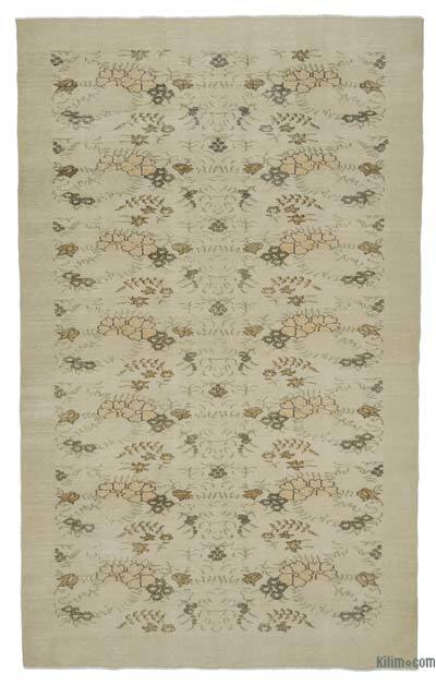 """Turkish Vintage Area Rug - 6' x 9'11"""" (72 in. x 119 in.)"""