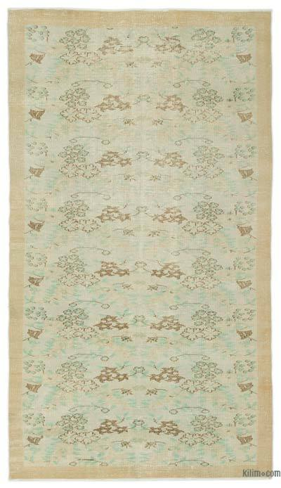 """Turkish Vintage Area Rug - 5' x 8'10"""" (60 in. x 106 in.)"""