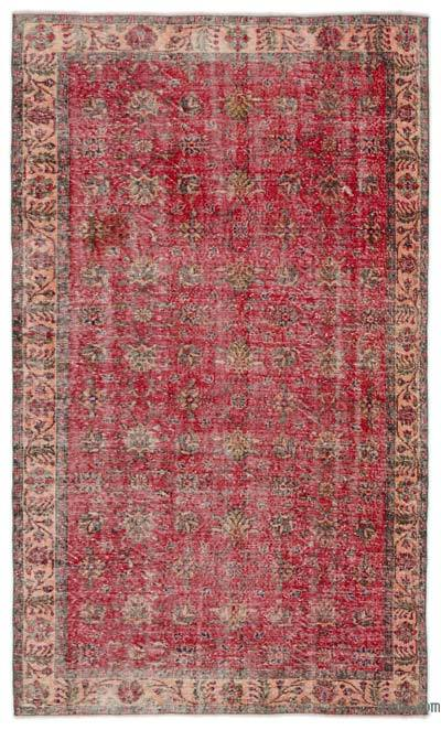 """Turkish Vintage Area Rug - 5'3"""" x 9'1"""" (63 in. x 109 in.)"""