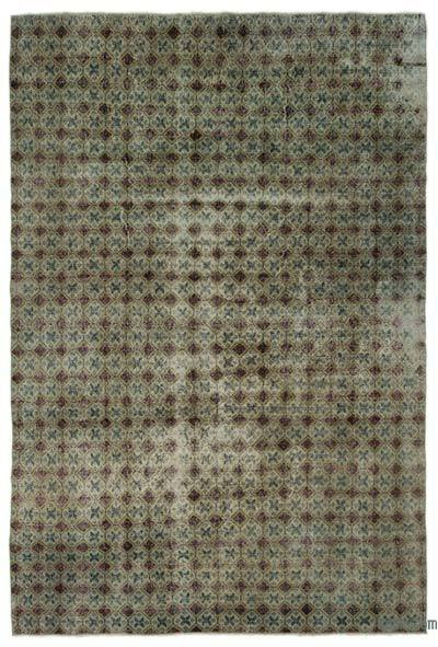 """Turkish Vintage Area Rug - 6'10"""" x 10'2"""" (82 in. x 122 in.)"""