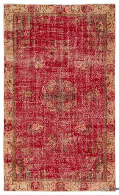 "Turkish Vintage Area Rug - 5'3"" x 8'9"" (63 in. x 105 in.)"