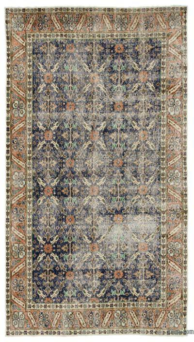 "Turkish Vintage Area Rug - 4'9"" x 8'8"" (57 in. x 104 in.)"