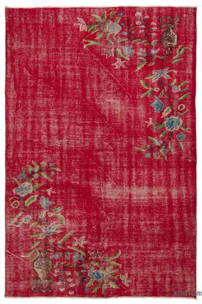 "Turkish Vintage Area Rug - 4'9"" x 7' (57 in. x 84 in.)"