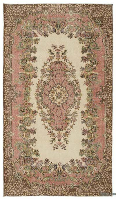 "Turkish Vintage Area Rug - 5'10"" x 10'1"" (70 in. x 121 in.)"