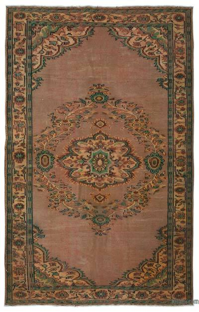 """Turkish Vintage Area Rug - 6' x 9'3"""" (72 in. x 111 in.)"""