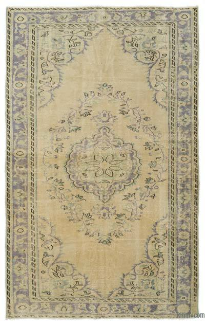 "Turkish Vintage Area Rug - 5'2"" x 8'4"" (62 in. x 100 in.)"