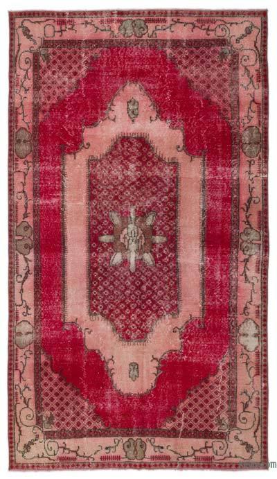 El Dokuma Vintage Halı - 175 cm x 303 cm