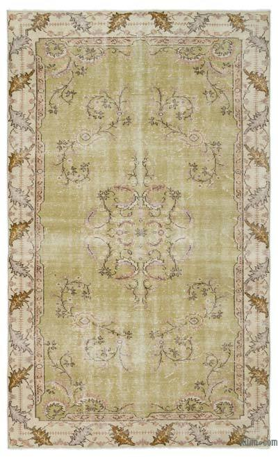 "Turkish Vintage Area Rug - 5' 6"" x 9' 2"" (66 in. x 110 in.)"