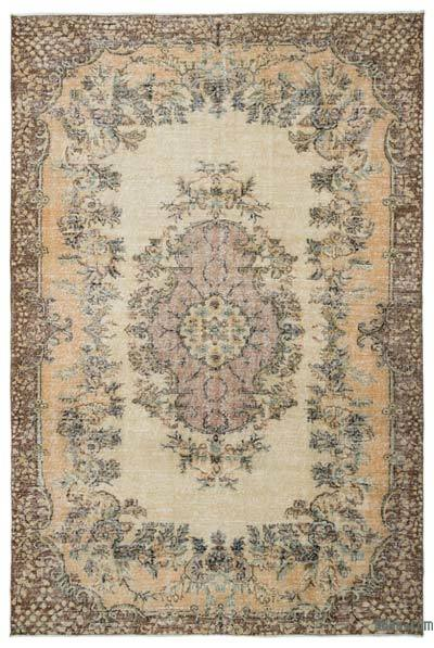 "Turkish Vintage Area Rug - 6' 9"" x 10' 3"" (81 in. x 123 in.)"
